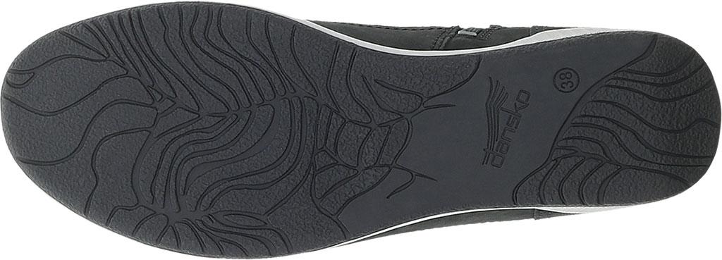 Women's Dansko Onyx High Top Sneaker, Black Milled Nubuck, large, image 4
