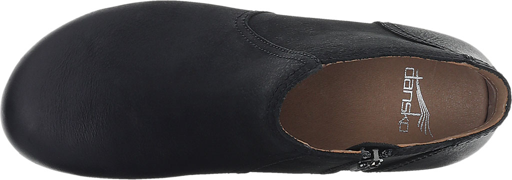 Women's Dansko Barbara Ankle Bootie, Black Burnished Nubuck, large, image 3
