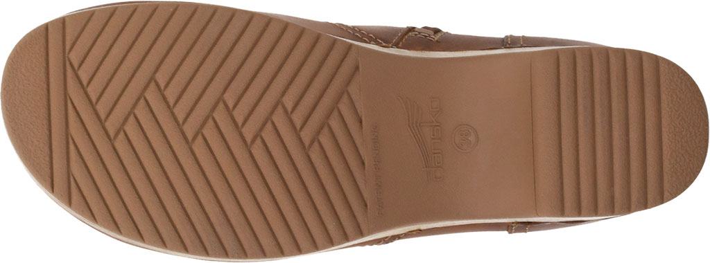 Women's Dansko Barbara Ankle Bootie, Tan Oiled Pull Up Leather, large, image 4