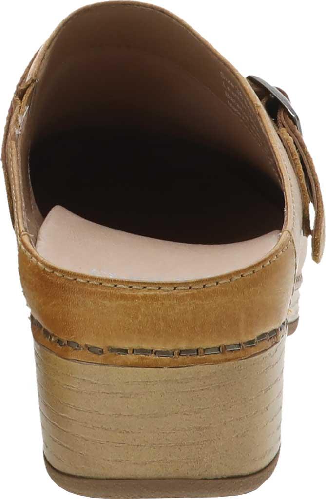 Women's Dansko Berry Mule, Tan Milled Burnished Leather, large, image 3