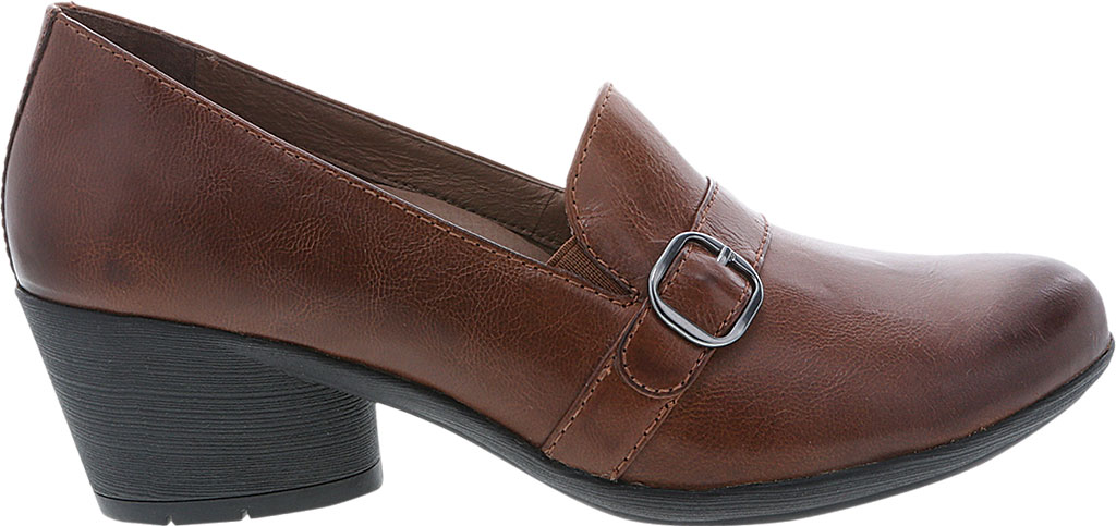 Women's Dansko Rosalie Slip-On, Chestnut Burnished Calf, large, image 2