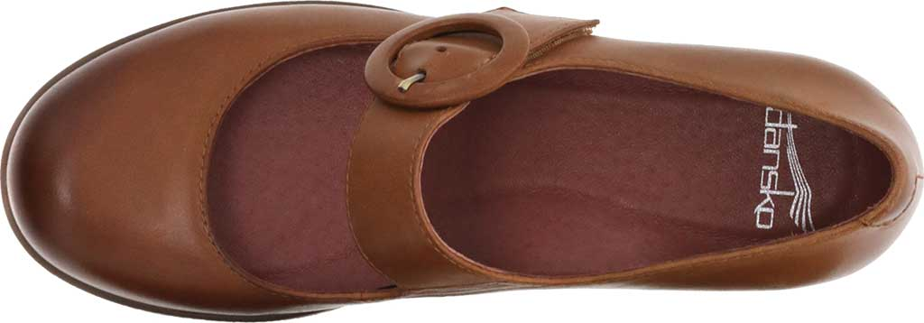 Women's Dansko Brandy Mary Jane, Luggage Waterproof Burnished Leather, large, image 3