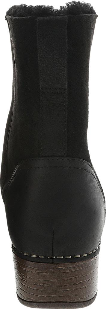 Women's Dansko Bettie Ankle Bootie, Black Burnished Nubuck, large, image 3