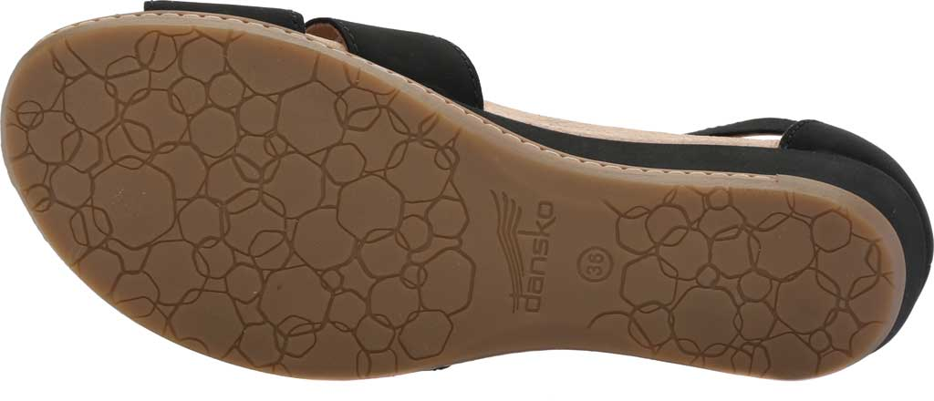 Women's Dansko Astrid Ankle Strap Sandal, Black Milled Nubuck, large, image 6