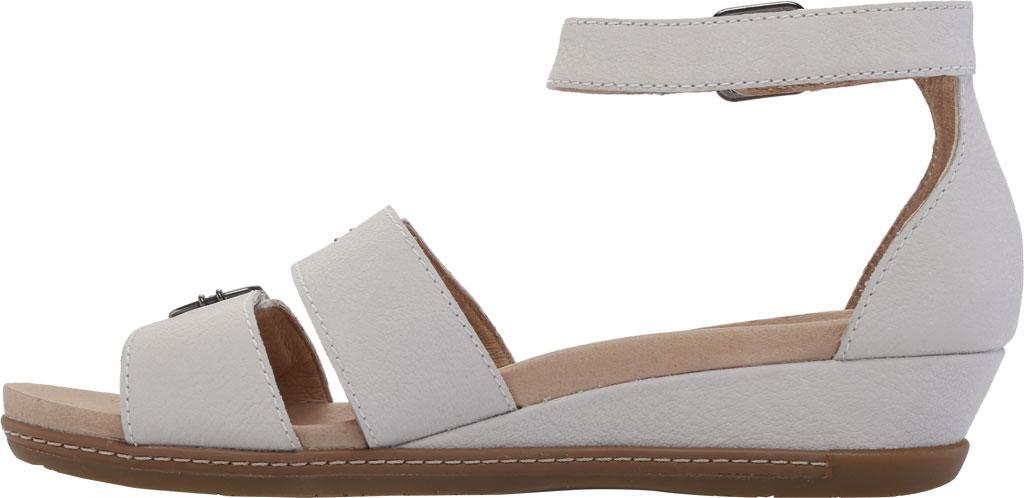 Women's Dansko Astrid Ankle Strap Sandal, Ivory Textured Nubuck, large, image 3
