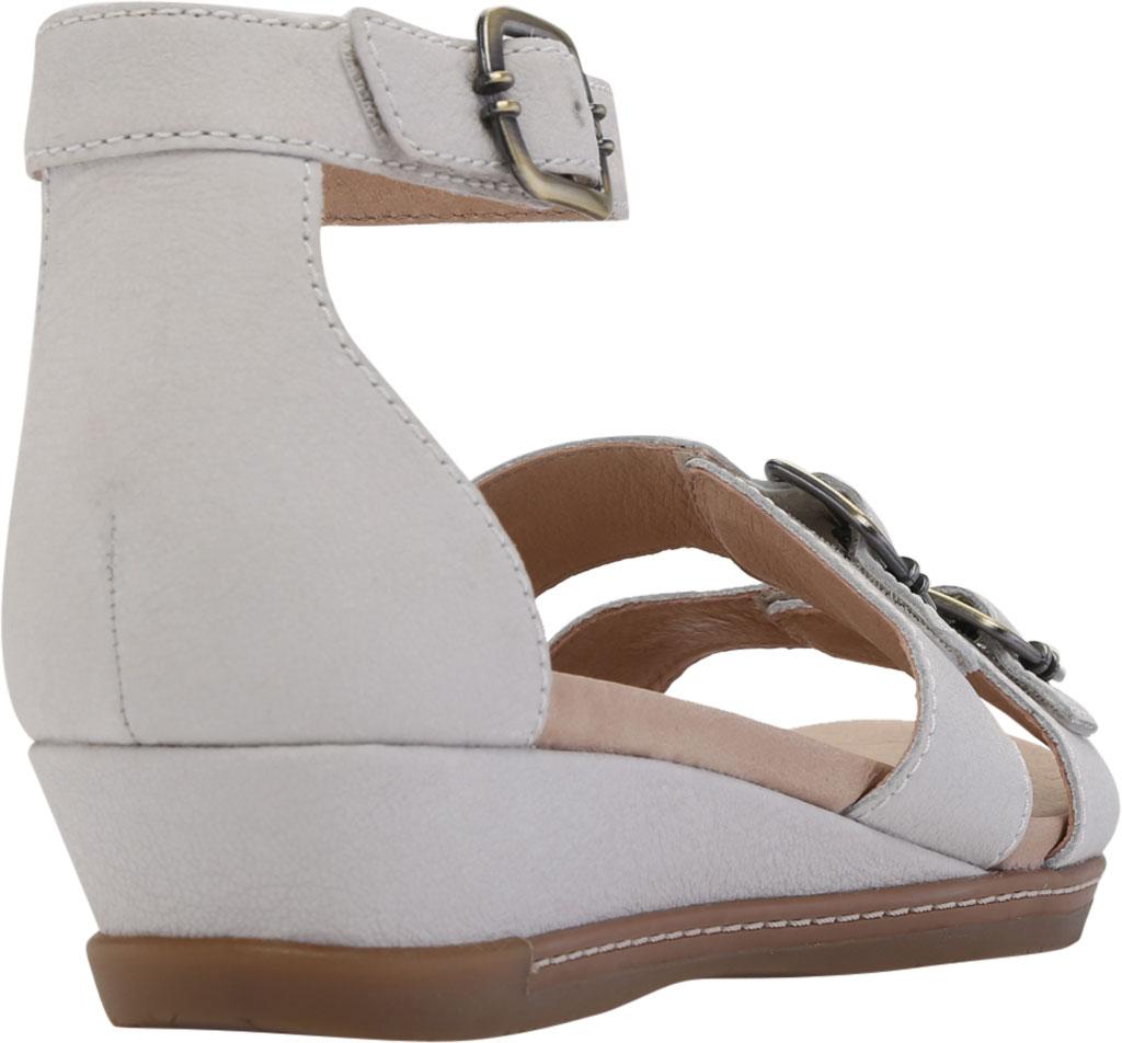 Women's Dansko Astrid Ankle Strap Sandal, Ivory Textured Nubuck, large, image 4