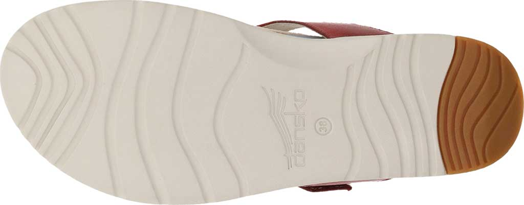 Women's Dansko Cece Thong Sandal, Red Burnished Calf, large, image 4