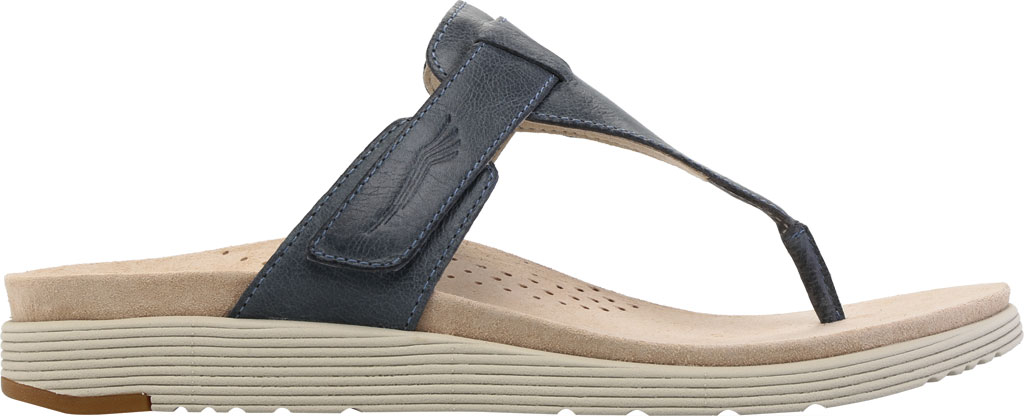Women's Dansko Cece Thong Sandal, Denim Burnished Calf, large, image 2