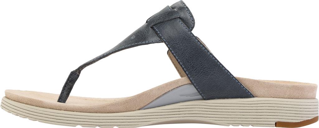 Women's Dansko Cece Thong Sandal, Denim Burnished Calf, large, image 3
