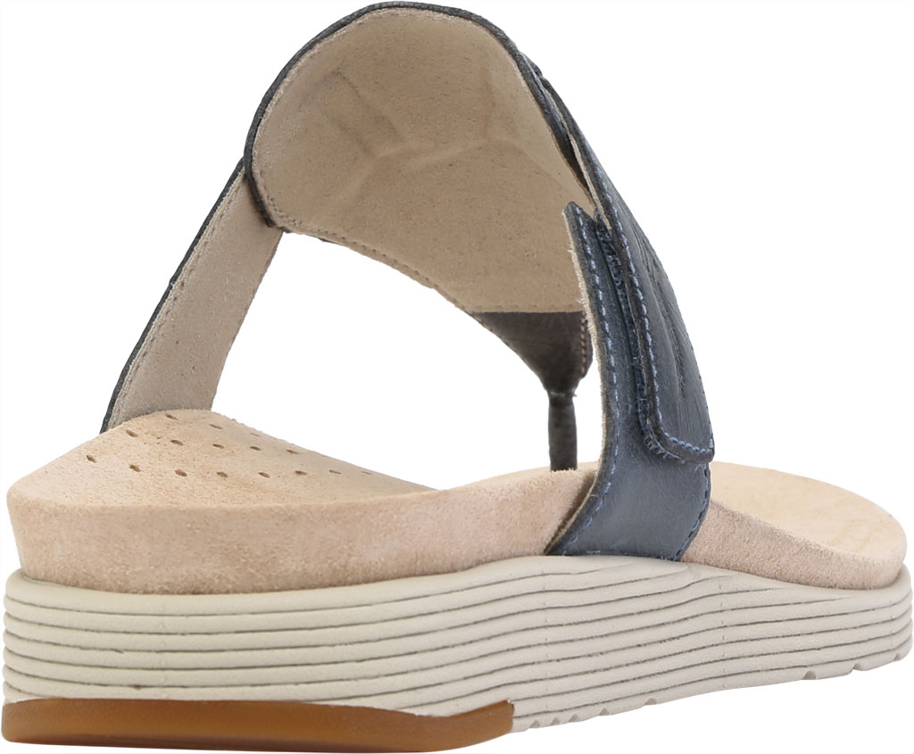 Women's Dansko Cece Thong Sandal, Denim Burnished Calf, large, image 4