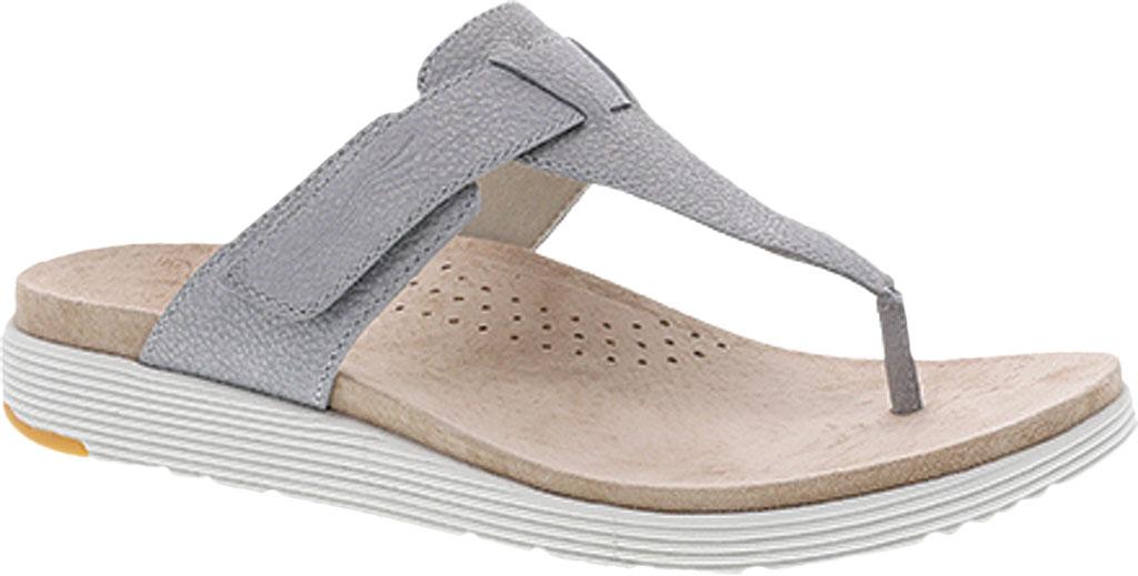 Women's Dansko Cece Thong Sandal, Pearl Metallic, large, image 1