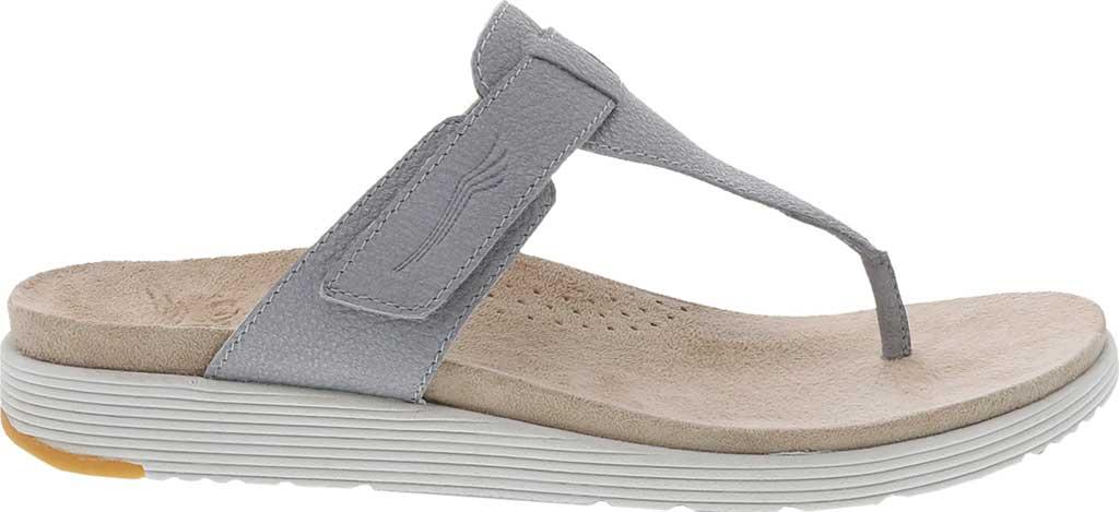 Women's Dansko Cece Thong Sandal, Pearl Metallic, large, image 2