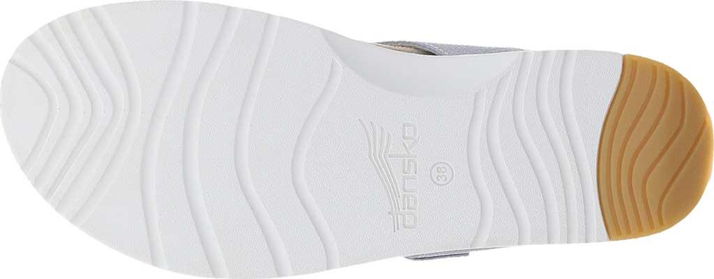 Women's Dansko Cece Thong Sandal, Pearl Metallic, large, image 4