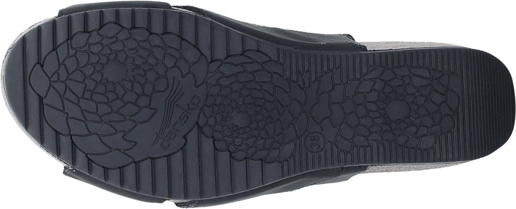 Women's Dansko Sera Strappy Sandal, Black Milled Nubuck, large, image 4