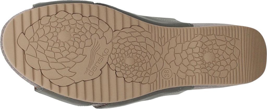 Women's Dansko Sera Strappy Sandal, Sage Milled Nubuck, large, image 4