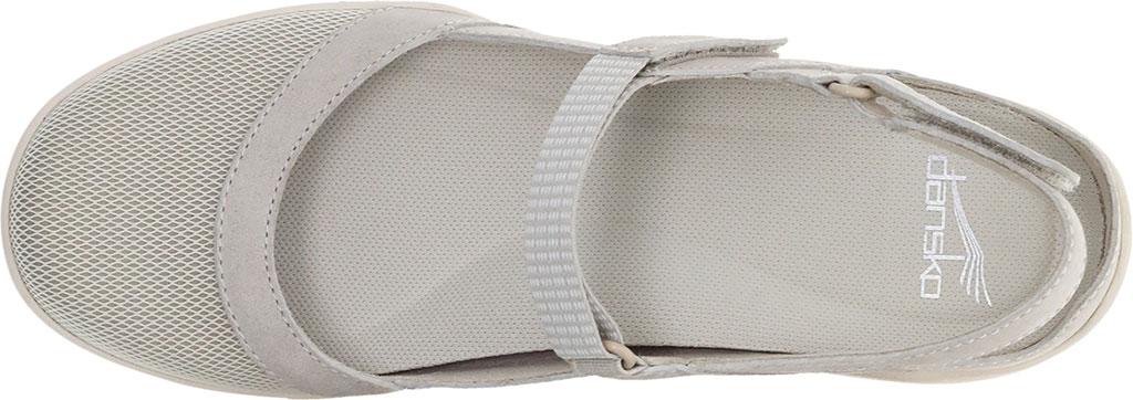 Women's Dansko Raeann Closed Toe Sandal, Ivory Suede, large, image 3