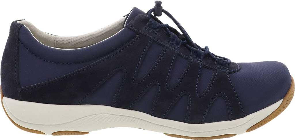 Women's Dansko Harlie Sneaker, Navy Suede, large, image 2