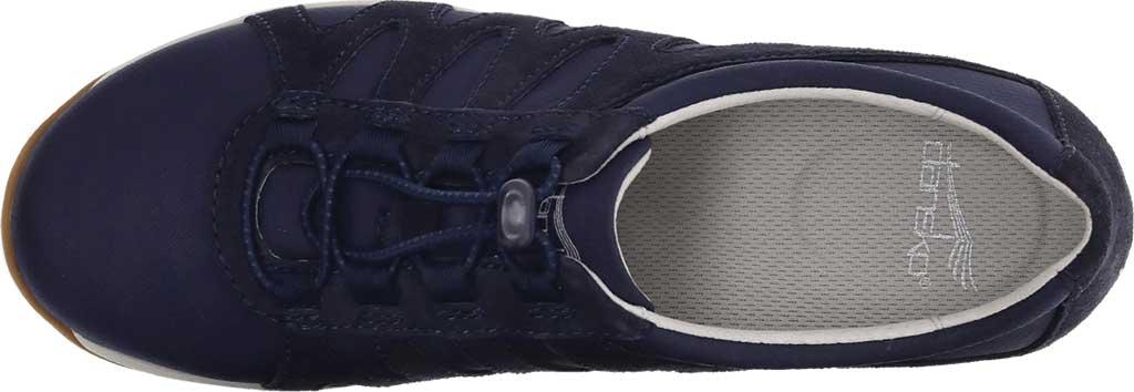 Women's Dansko Harlie Sneaker, Navy Suede, large, image 3