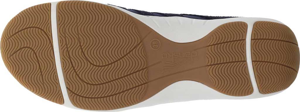 Women's Dansko Harlie Sneaker, Navy Suede, large, image 4
