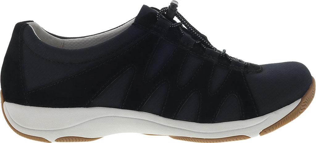 Women's Dansko Harlie Sneaker, Black Suede, large, image 2