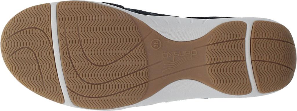 Women's Dansko Harlie Sneaker, Black Suede, large, image 4