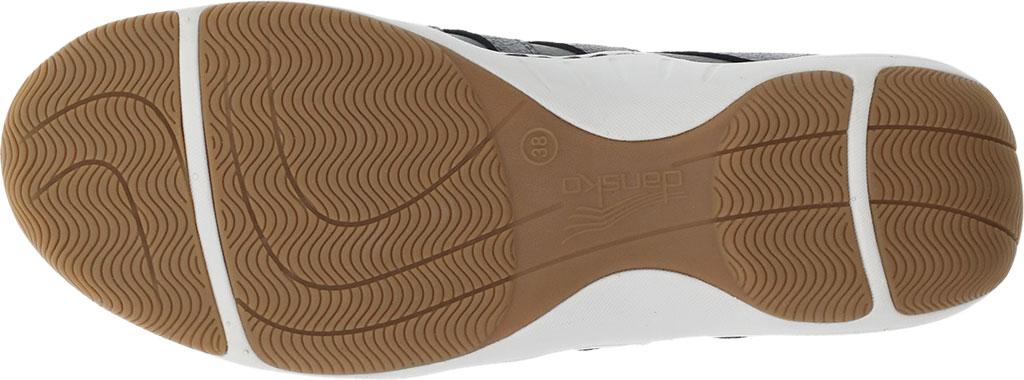 Women's Dansko Harlie Sneaker, Charcoal Metallic Suede, large, image 4