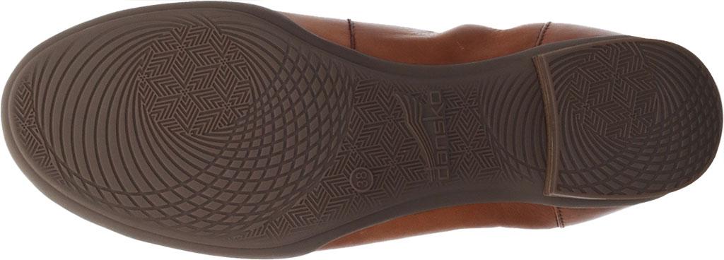 Women's Dansko Kira Ballet Flat, Luggage Aniline Calf Leather, large, image 4