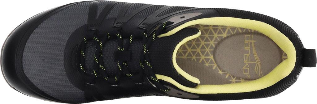Women's Dansko Phylicia Sneaker, Black Mesh, large, image 3