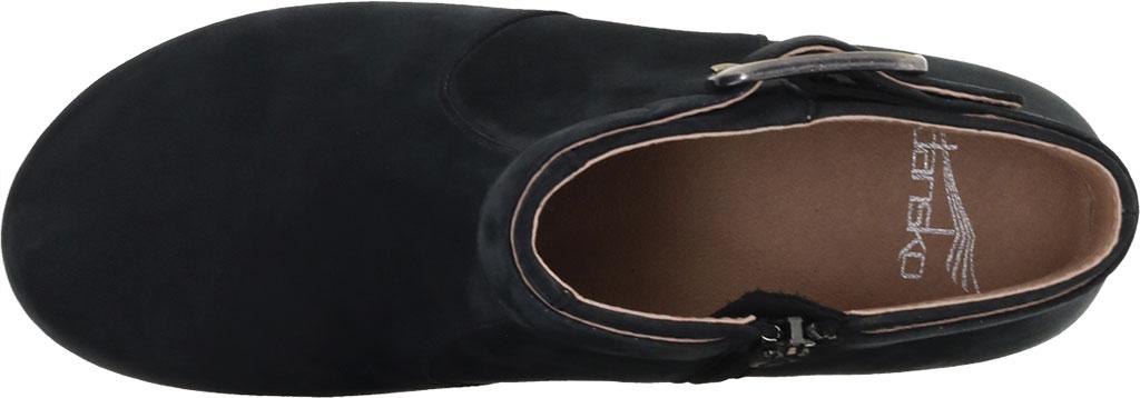 Women's Dansko Autumn Ankle Bootie, Black Nubuck, large, image 3