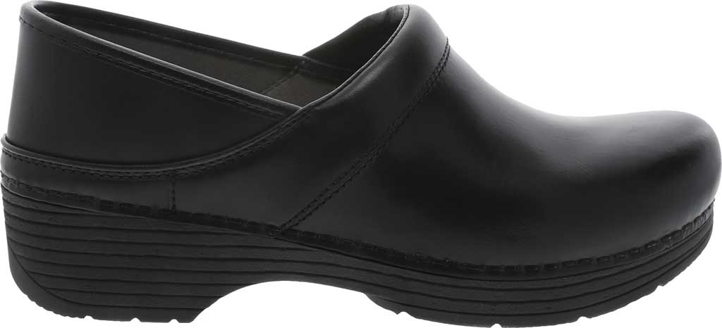 Women's Dansko LT Pro Closed Back Clog, Black Leather, large, image 2