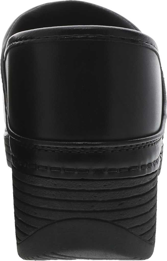 Women's Dansko LT Pro Closed Back Clog, Black Leather, large, image 3