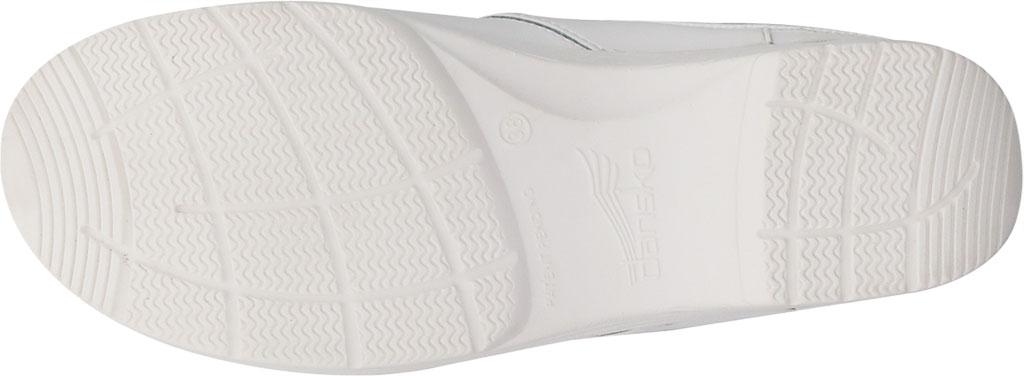 Women's Dansko LT Pro Closed Back Clog, White Box Leather, large, image 4