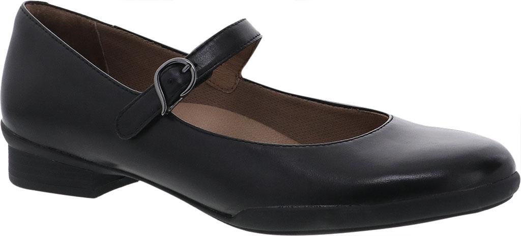 Women's Dansko Kaelyn Mary Jane, Black Aniline Calf Leather, large, image 1