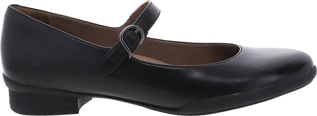 Women's Dansko Kaelyn Mary Jane, Black Aniline Calf Leather, large, image 2