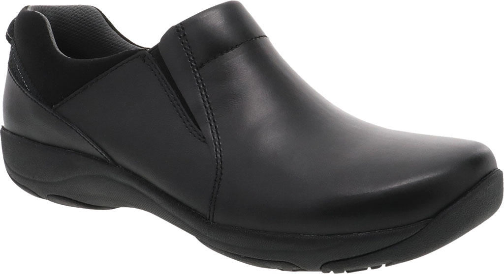 Women's Dansko Neci Slip On, Black Leather, large, image 1