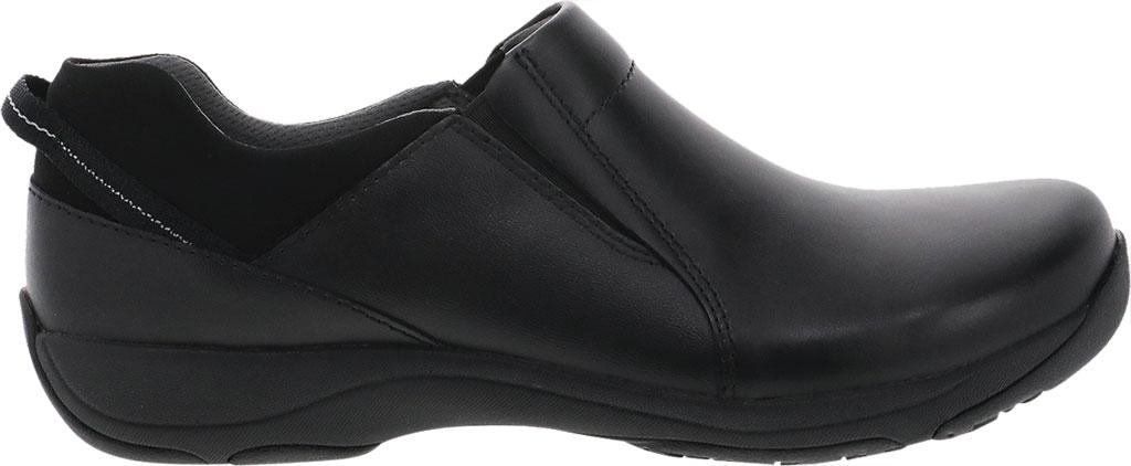 Women's Dansko Neci Slip On, Black Leather, large, image 2