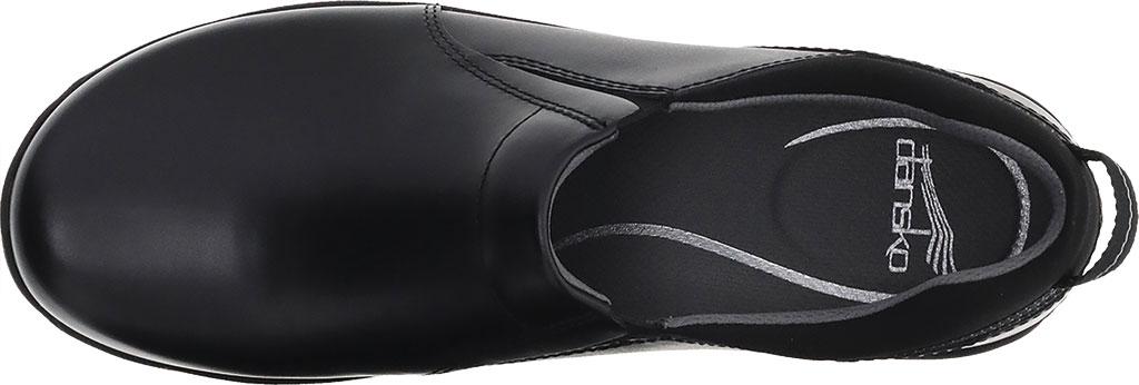 Women's Dansko Neci Slip On, Black Leather, large, image 3
