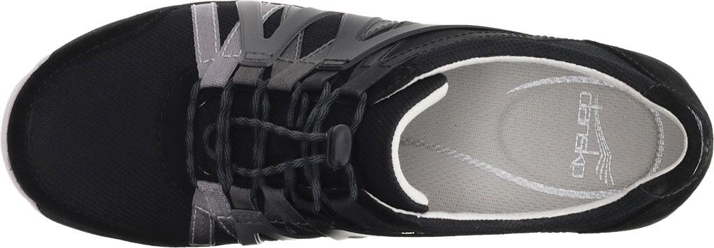 Women's Dansko Henriette Sneaker, Black Suede, large, image 3