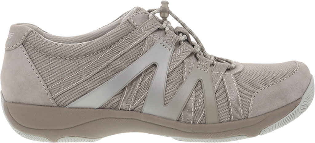 Women's Dansko Henriette Sneaker, Taupe Suede, large, image 1