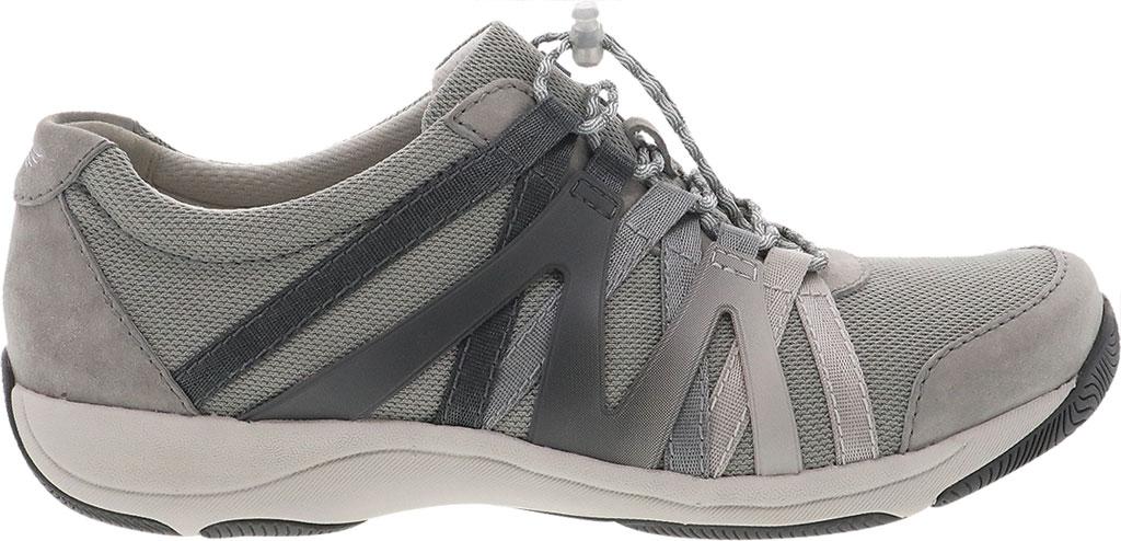 Women's Dansko Henriette Sneaker, Grey Suede, large, image 2