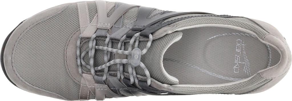 Women's Dansko Henriette Sneaker, Grey Suede, large, image 3