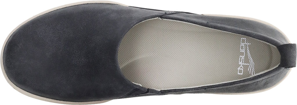 Women's Dansko Reba Closed Back Clog, Black Vintage Nappa Leather, large, image 3