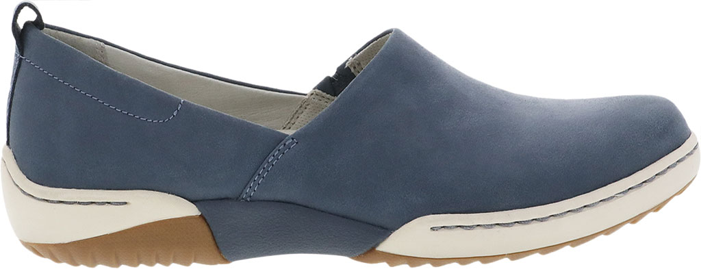 Women's Dansko Reba Closed Back Clog, Denim Vintage Nappa Leather, large, image 2