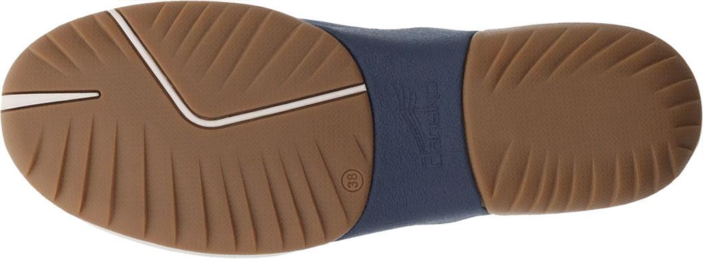 Women's Dansko Reba Closed Back Clog, Denim Vintage Nappa Leather, large, image 4
