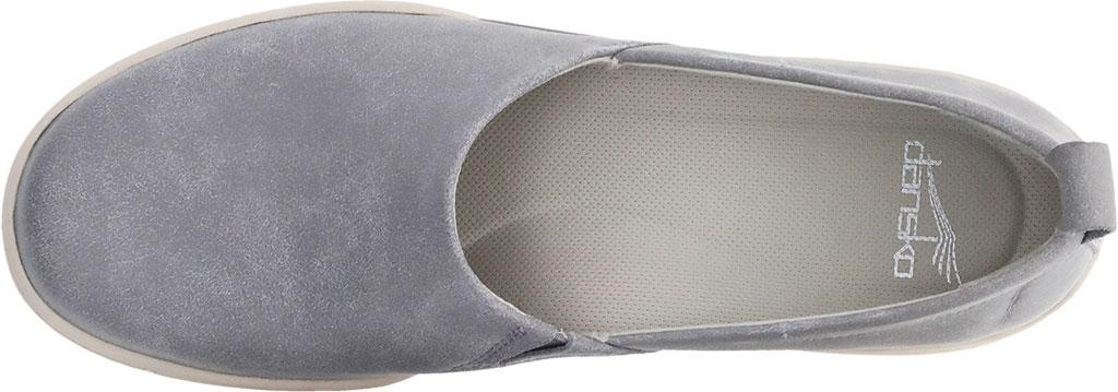 Women's Dansko Reba Closed Back Clog, Grey Vintage Nappa Leather, large, image 3