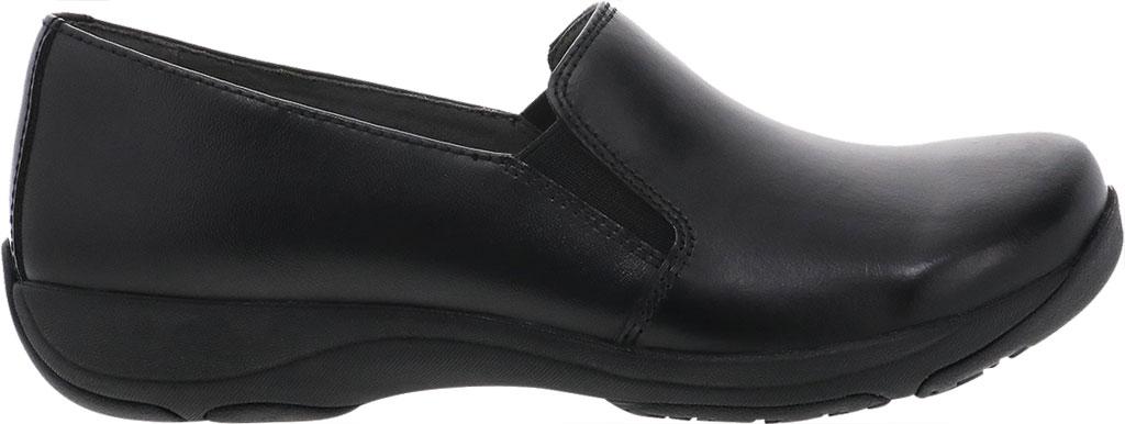 Women's Dansko Nora Slip On, Black/Black Leather, large, image 2