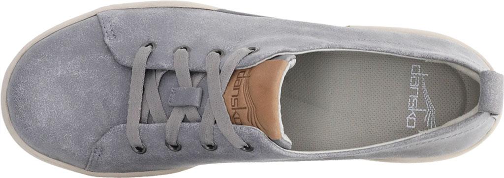 Women's Dansko Renae Sneaker, Grey Vintage Nappa Leather, large, image 3