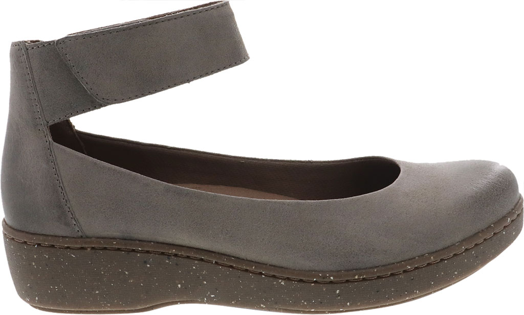 Women's Dansko Emmie Ankle Strap, Taupe Burnished Suede, large, image 2