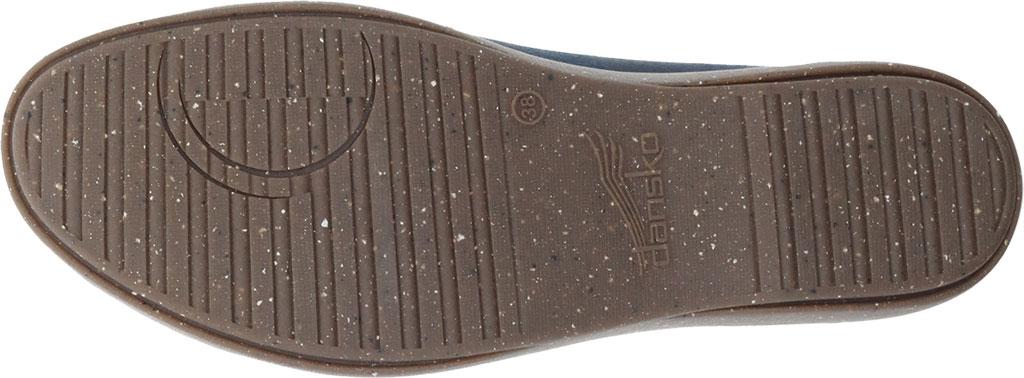 Women's Dansko Emmie Ankle Strap, Teal Burnished Suede, large, image 4
