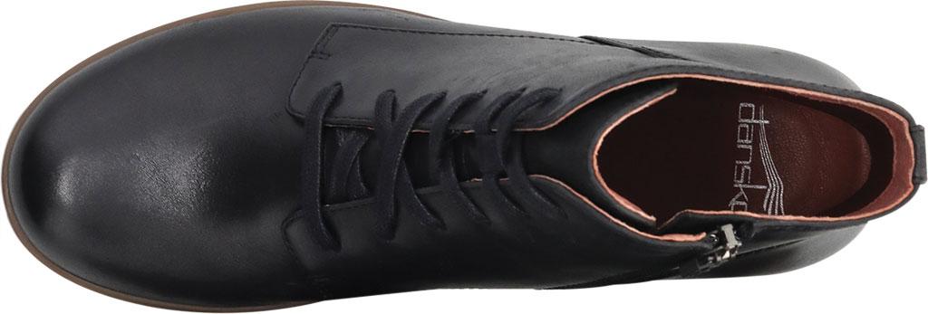 Women's Dansko BeBe Ankle Bootie, Black Tumbled Leather, large, image 3